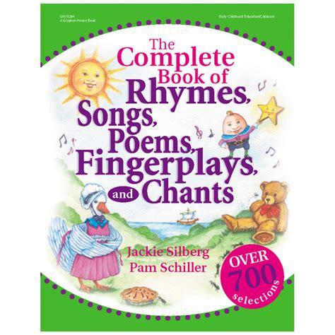 the complete book of the complete book of rhymes songs