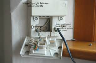 your master socket and how to avoid a large bill telecom green