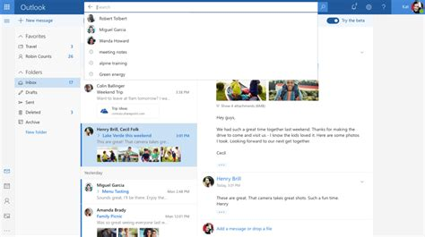 Outlook For Designers by Microsoft Is Refining Outlook With A New Design And Intelligent Features Mspoweruser