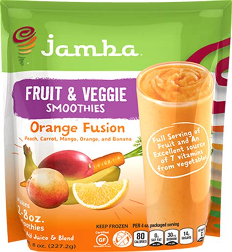 orange fusion jamba 174 at home smoothies