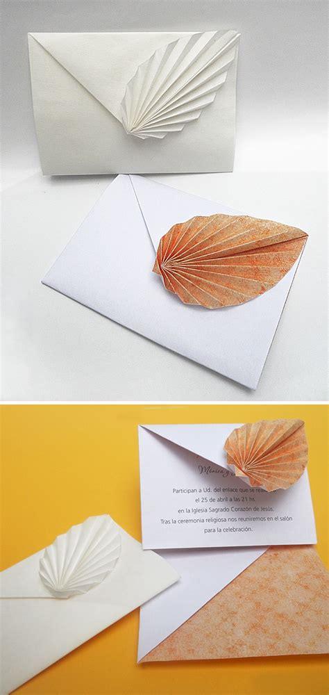 Craft Paper Envelope - origami sobres plegados en papel mis origamis