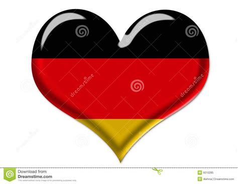 free german german flag in illustration royalty free stock photo