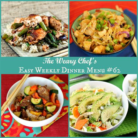 asian dinner recipes asian dinner recipes easy weekly dinner menu 62 the