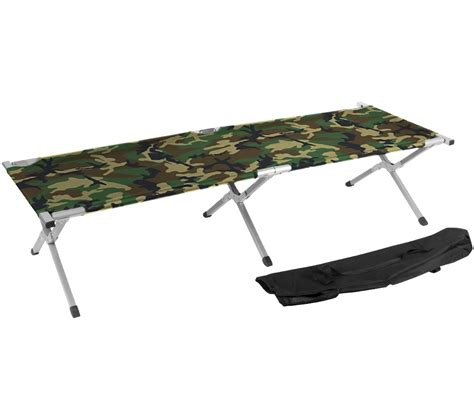 portable cot bed trademark innovations portable folding cing bed cot