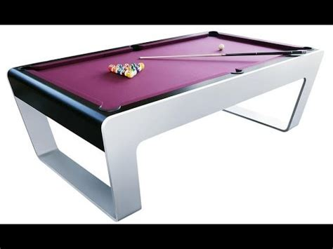 expensive pool tables most expensive 48 500 porsche pool table youtube