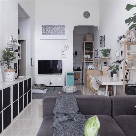 Karpet Nonton Tv 10 trik dekorasi rumah mungil kekinian ala rumah sachi
