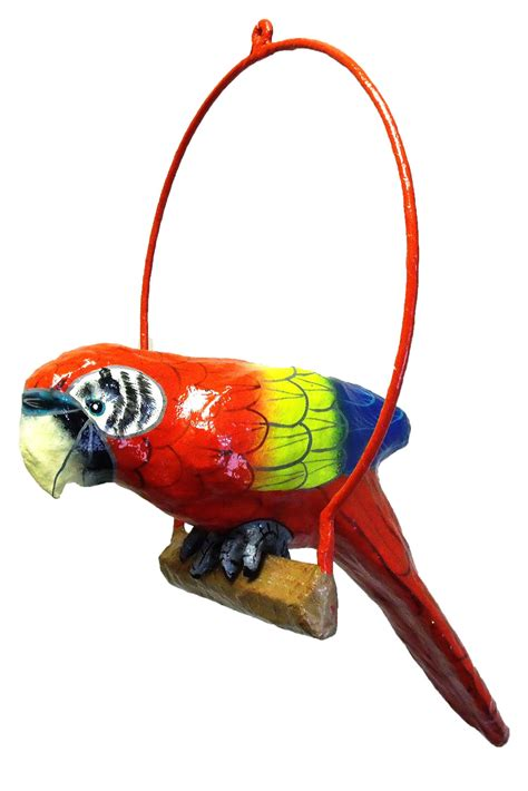 Parrot Decor by Tropical Parrot Tiki Decor Haitian Paper Mache S Color