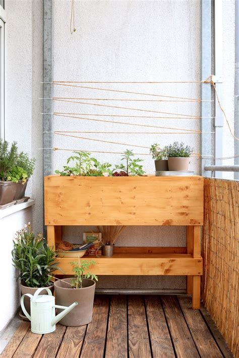 Hochbeet Balkon