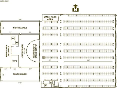 Horse Stall Floor Plans by Buildings Cattle Barn Iowa State Fair Grounds