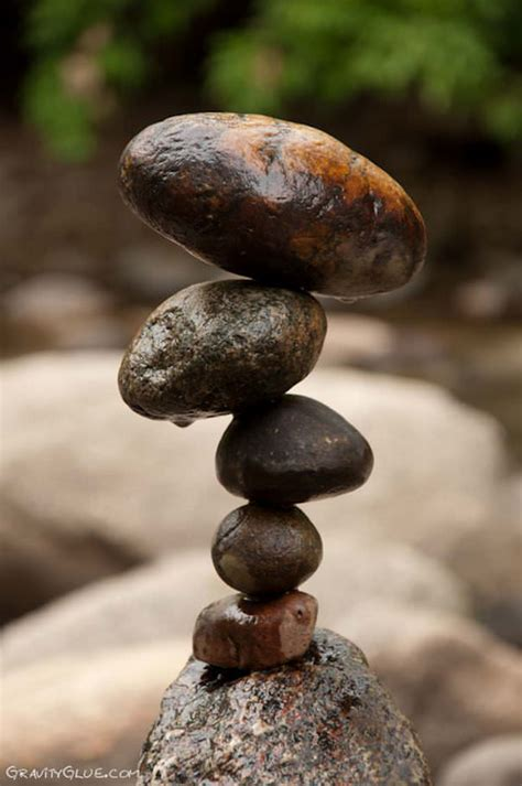 Rock Out With The Creative Zen Rock Geddit by Rock Sculptures Balance By Michael Grab