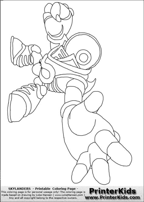 eye brawl skylander coloring page print eye brawl from sky landers free colouring pages