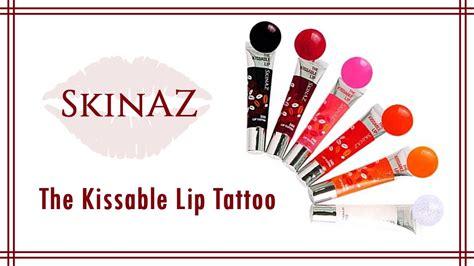 skinaz lip tattoo ร ว วล ปจ บไม หล ด skinaz the kissable lip tattoo koii