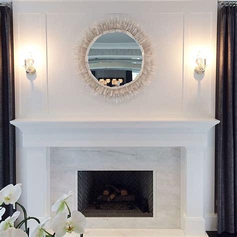 white marble fireplace white marble fireplace surround with a gray herringbone