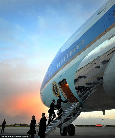 all aboard the air one volcanic ash cloud forces barack obama to fly in early to