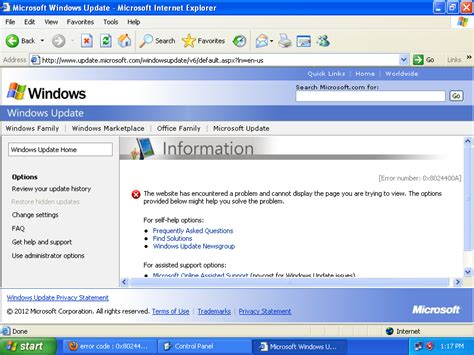 windows 8 explorer fresh installed windows xp refuses to update super user