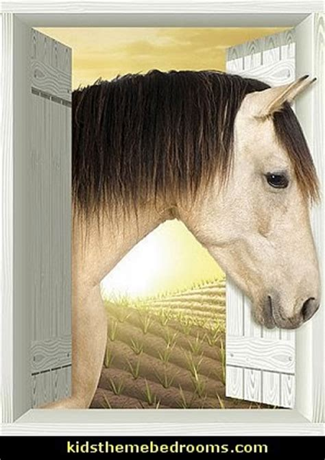 horse themed bedroom for the feminine 7 10 year old crowd decorating theme bedrooms maries manor horse theme