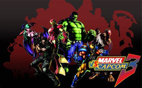 Marvel Vs Capcom Live Wallpaper by Marvel Vs Capcom Cast Wallpaper Hd Wallpaper Wiki