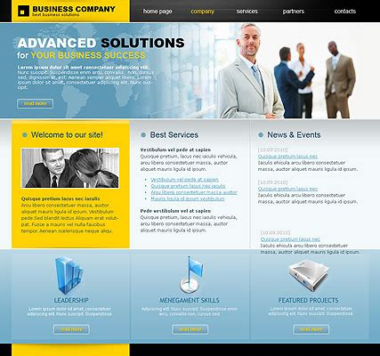 business template html business company html template