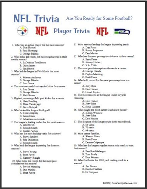 7 best images of printable sports trivia printable