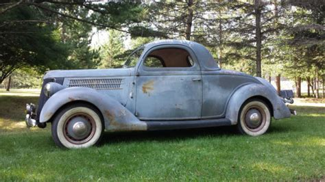 36 ford coupe 1936 36 ford 3w 3 window coupe rod car vintage