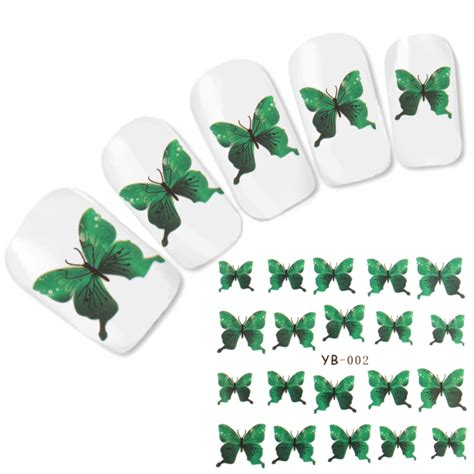 Tattoo Aufkleber Schmetterling by Tattoo Nail Art Schmetterling Aufkleber Nagel Sticker Neu