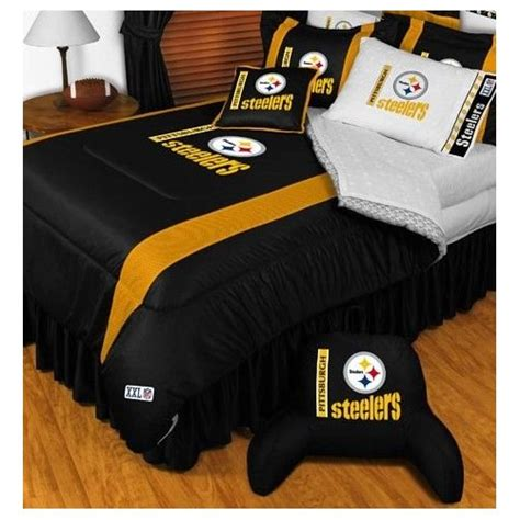 pittsburgh steelers bed set pittsburgh steelers bedding themed bedroom ideas