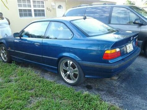 Bmw 323is by Buy Used 1998 Bmw 323is Base Coupe 2 Door 2 8l In Pompano