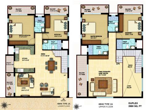 Chowriappa Constructions Pvt Ltd 1 Bhk Duplex House Plans