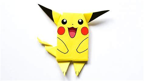 Pikachu Origami - pikachu origami