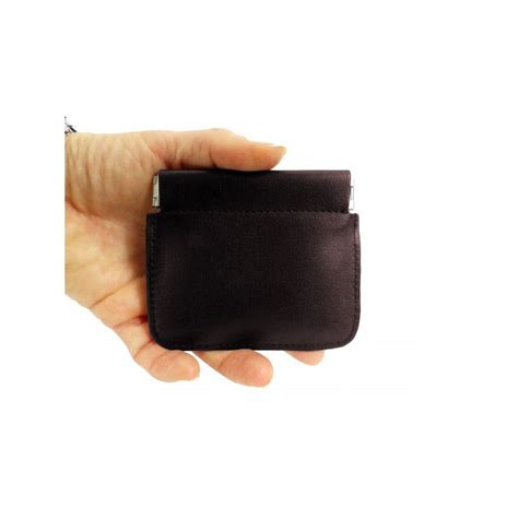 porte monnaie clic clac porte monnaie bourse clic clac femme homme en cuir