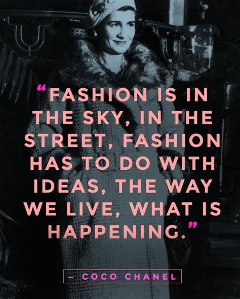 Fashion Quotes 20 Amazing Coco Chanel Quotes On Fashion And True