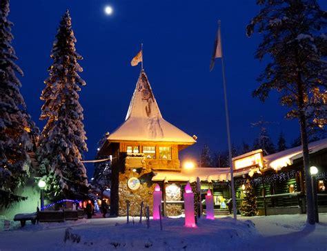 casa di babbo natale finlandia santa claus post office in the santa claus in