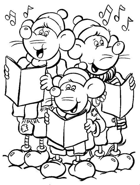 imagenes de navidad para colorear animadas animales animados para pintar y colorear en navidad