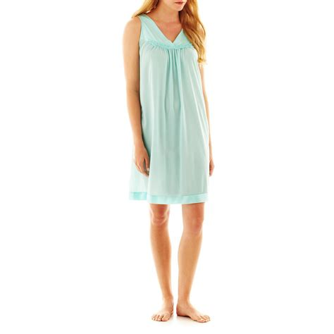Vanity Fair Coloratura Nightgown by Nightgowns Sleepwear Plus Size Apparel Plus Size