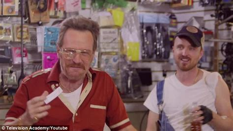 bryan cranston pawn shop bryan cranston and aaron paul reunite to play sleazy pawn