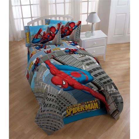 spiderman bedding set spiderman 4 pc bedding twin comforter sheet set bedding sets