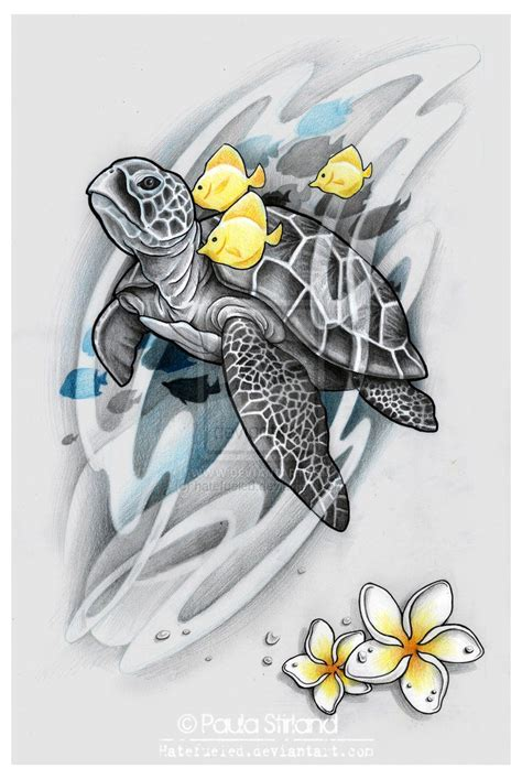 sea tattoo designs sea turtle by hatefueled deviantart on deviantart