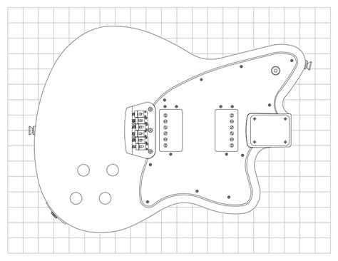 fender jazzmaster template guitar kit builder scratch pine fender toronado