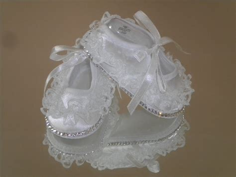 christening shoes baby baby bling lace ruffle christening shoes