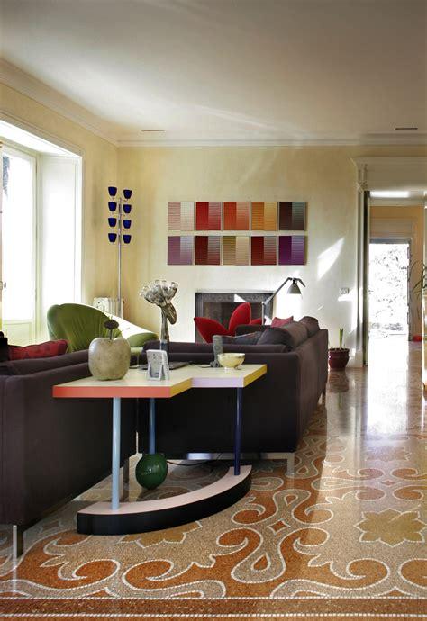 pavimenti design moderno vigo mosaici villa privata a zoagli decorazione in marmo