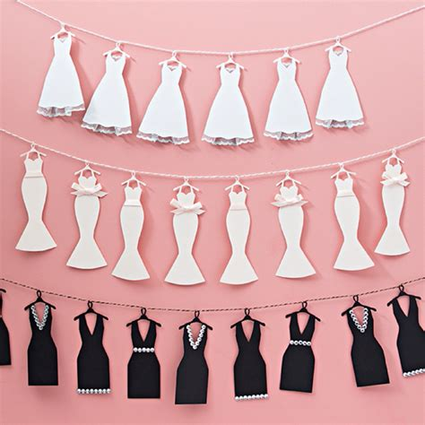 This Mini  Ee  Wedding Ee   Dress Bunting Banner Is Just Too Cute