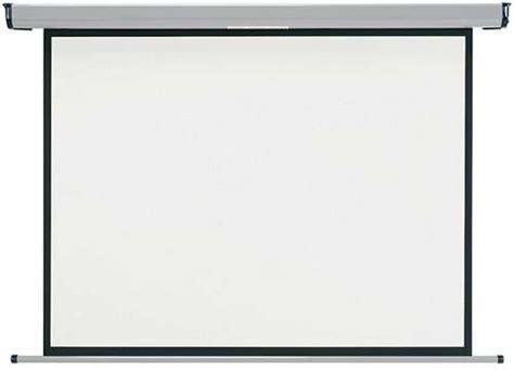 Screen Projector Manual 80 Inci manual pull screen projector 150 x 150 cm 80