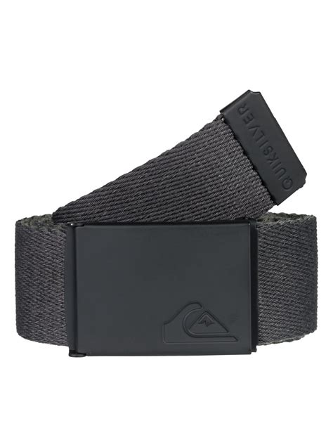 Jam Quicksilver Surf Black Silver the jam reversible webbing belt eqyaa03661 quiksilver