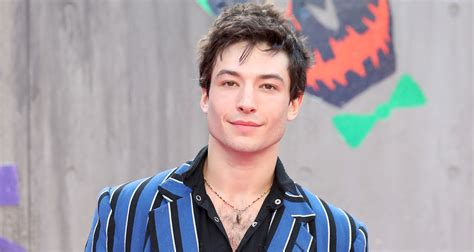 ezra miller engaged ezra miller brings the flash to the suicide squad