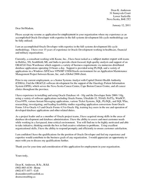 sle management consulting cover letter guamreview