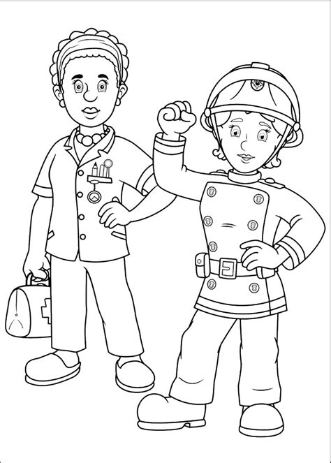 Fireman Sam Coloring Pages by Fireman Sam Coloring Pages Coloring Pages