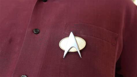 star trek comm badges  geek pub
