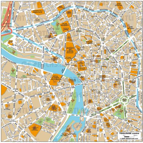 map of toulouse toulouse map