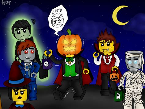 imagenes lego halloween ninjago halloween 2015 by yipkarhei2001 on deviantart