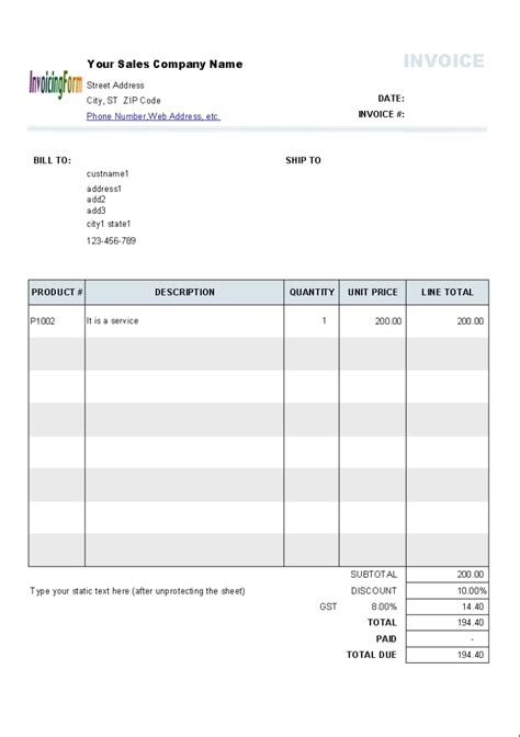 australian invoice invoice design inspiration